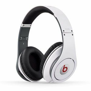 Monster Beats by Dr. Dre Studio White Headphones